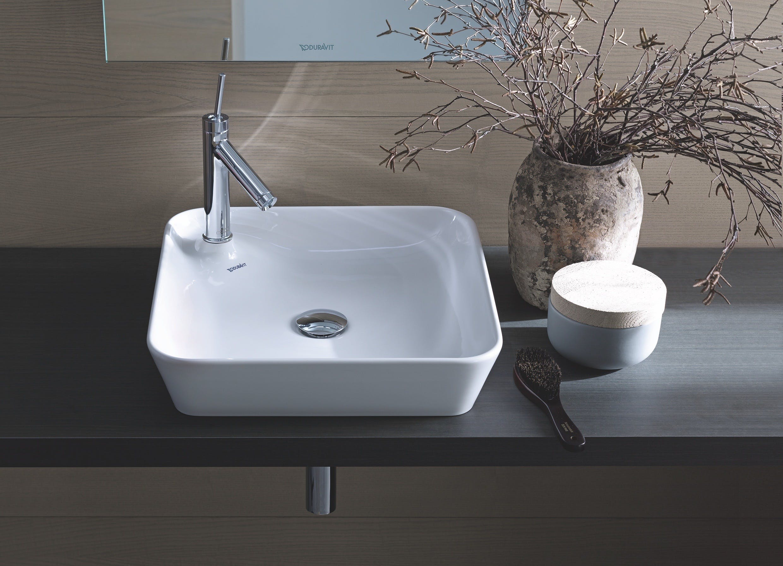 Duravit Sink in bathroom with decor