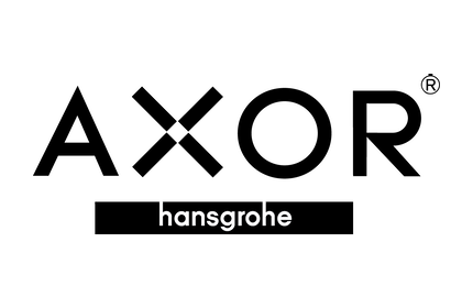 Axor Hansgrohe Logo in black and white
