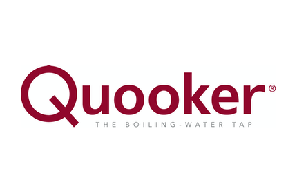 White and red Quooker logo