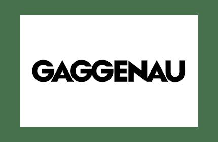 Black and white Gaggenau logo