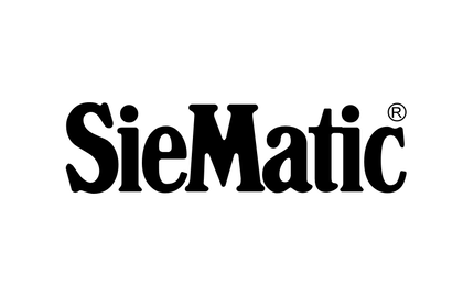 Black and white SieMatic logo